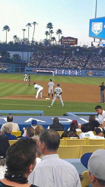 Dodger Stadium, secção: 20FD, fila: G, lugar: 5