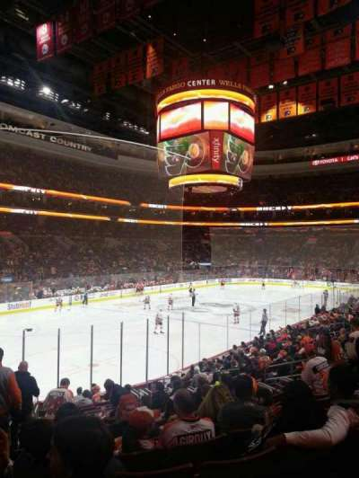 Wells Fargo Center secção 117