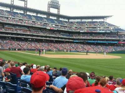 Citizens Bank Park secção 111