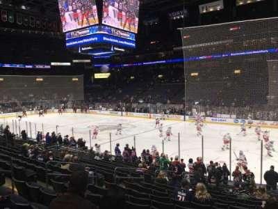 Nationwide Arena, secção: 112, fila: S, lugar: 12
