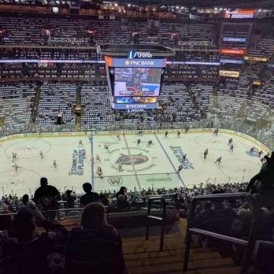 Nationwide Arena, secção: 204, fila: O, lugar: 1