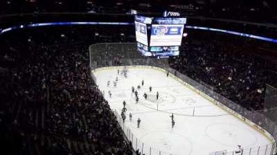 Nationwide Arena, secção: 226, fila: P, lugar: 11