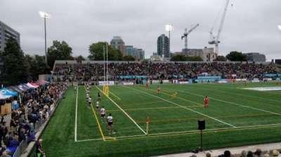 Lamport Stadium, secção: West, fila: 5