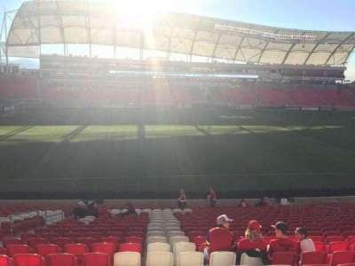 Rio Tinto Stadium secção 3