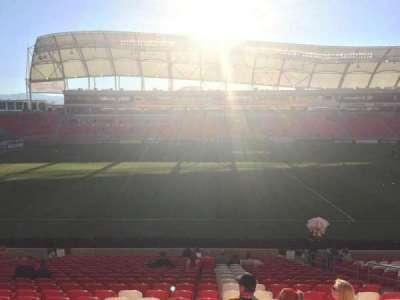 Rio Tinto Stadium secção 2