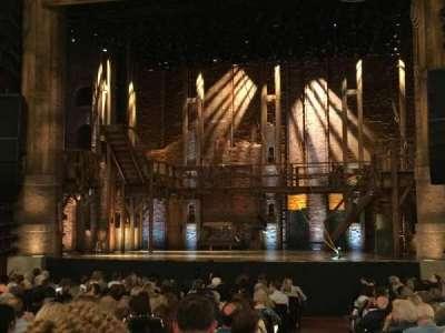 PrivateBank Theatre, secção: Orchestra C, fila: V, lugar: 119