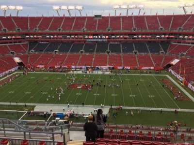 Raymond James Stadium secção 337
