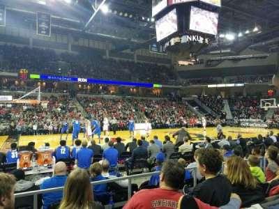 BB&T Arena, secção: 103, fila: D, lugar: 15