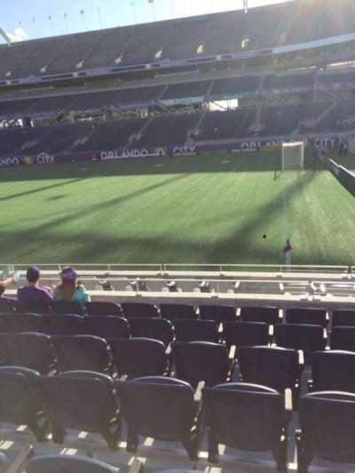 Camping World Stadium, secção: 103, fila: K, lugar: 26