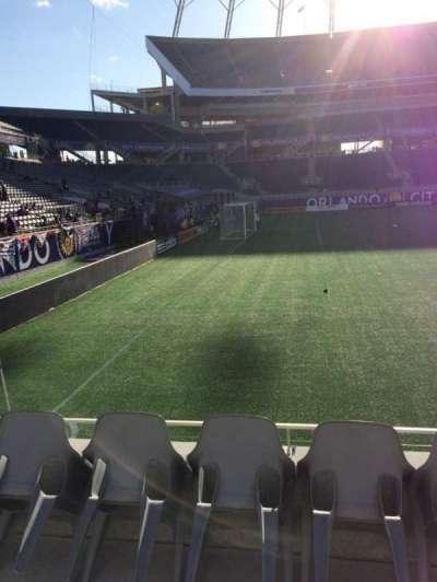 Camping World Stadium, secção: 113, fila: D, lugar: 1