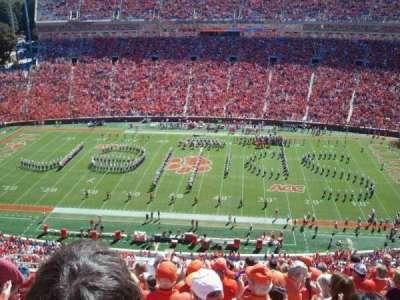 Memorial Stadium, Clemson secção Tdp