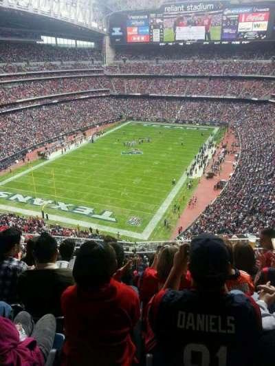 NRG Stadium secção 618