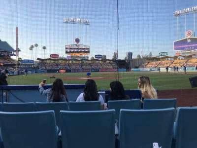 Dodger Stadium secção 1DH