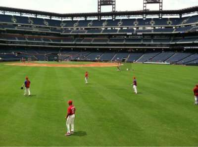 Citizens Bank Park secção 102
