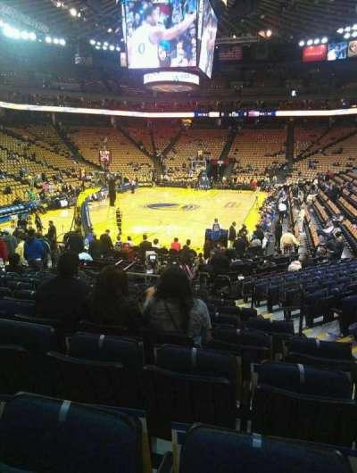 Oakland Arena secção 121
