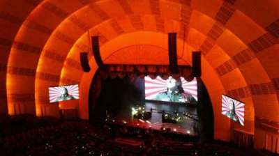 Radio City Music Hall secção 3rd Mezzanine 2
