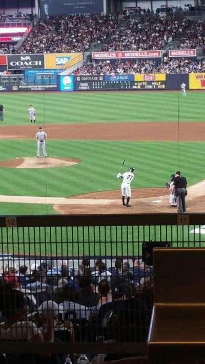 Yankee Stadium secção 121BS