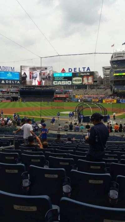 Yankee Stadium, secção: 121A, fila: 11, lugar: 6
