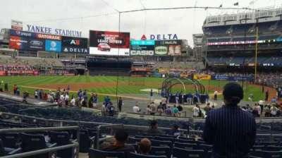 Yankee Stadium, secção: 121A, fila: 9, lugar: 11