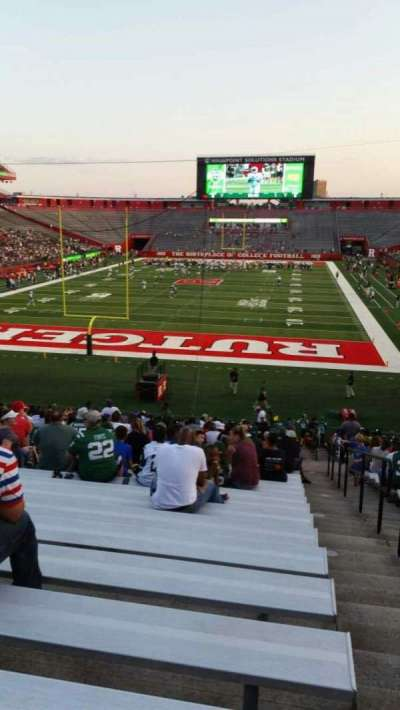 High Point Solutions Stadium, secção: 115, fila: 33, lugar: 1