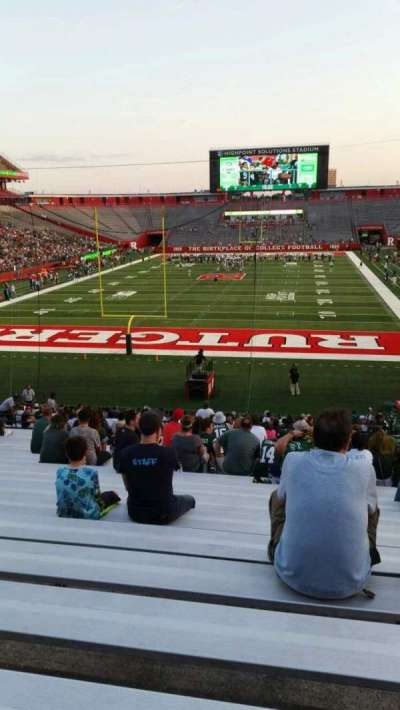 High Point Solutions Stadium, secção: 115, fila: 34, lugar: 6