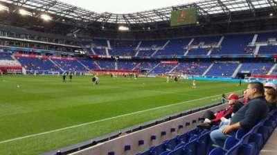 Red Bull Arena (New Jersey), secção: 127, fila: 4, lugar: 35