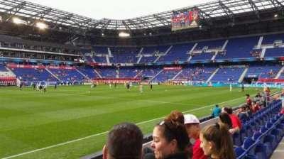 Red Bull Arena (New Jersey), secção: 127, fila: 4, lugar: 29