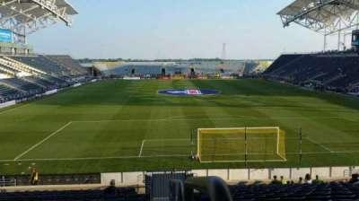 Talen Energy Stadium secção 118