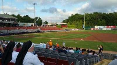 Dodd Stadium, secção: 3, fila: N, lugar: 22