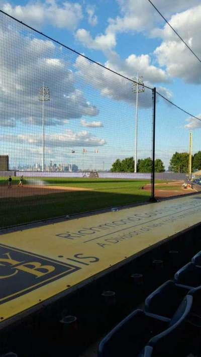 Richmond County Bank Ballpark secção 11