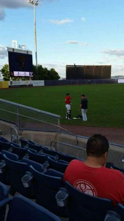 Richmond County Bank Ballpark, secção: 1, fila: F, lugar: 1