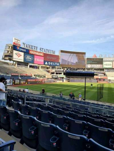 Yankee Stadium, secção: 128, fila: 7, lugar: 8