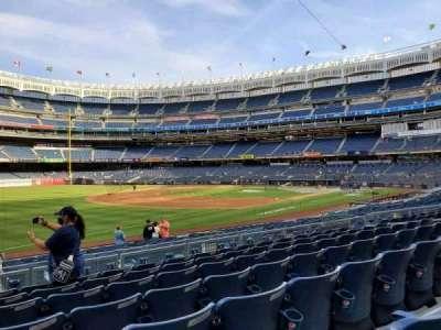 Yankee Stadium, secção: 128, fila: 7, lugar: 16