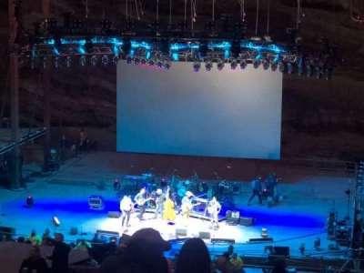 Red Rocks Amphitheatre, fila: 31, lugar: 54