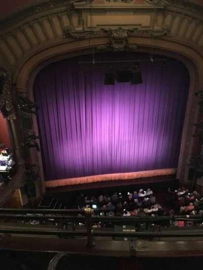 Lyceum Theatre (Broadway) secção Balcony C