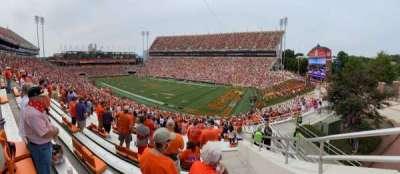Memorial Stadium, Clemson secção UA