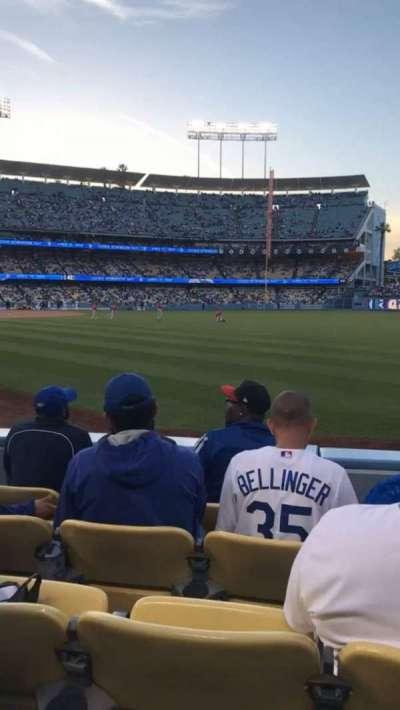 Dodger Stadium secção 48FD
