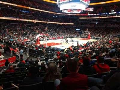 Capital One Arena, secção: 108, fila: O, lugar: 14