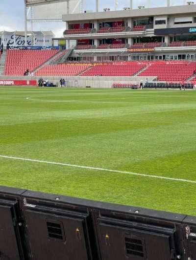 Rio Tinto Stadium, secção: 35, fila: B, lugar: 25