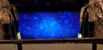 Oriental Theatre, secção: LogeC, fila: A, lugar: 307