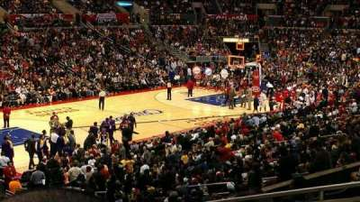 Staples Center secção PR8