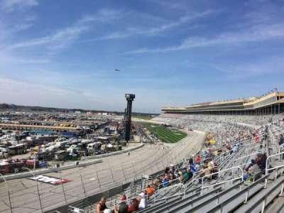 Atlanta Motor Speedway, secção: 106, fila: 14, lugar: 1