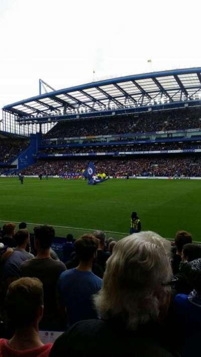 Stamford Bridge, secção: East Lower North, fila: O, lugar: 172