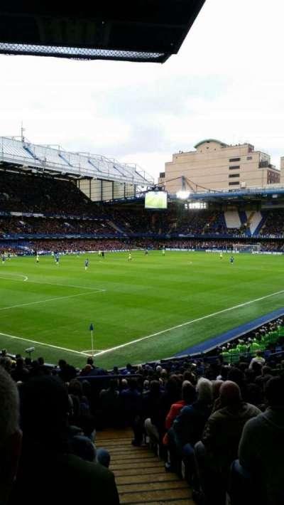 Stamford Bridge, secção: Matthew Harding Lower, fila: U, lugar: 395
