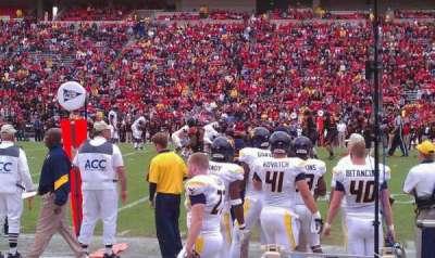 Maryland Stadium, secção: 6, fila: A, lugar: 1