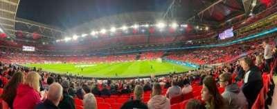 Wembley Stadium, secção: 141, fila: 22, lugar: 229