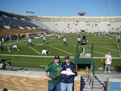 Notre Dame Stadium secção 19