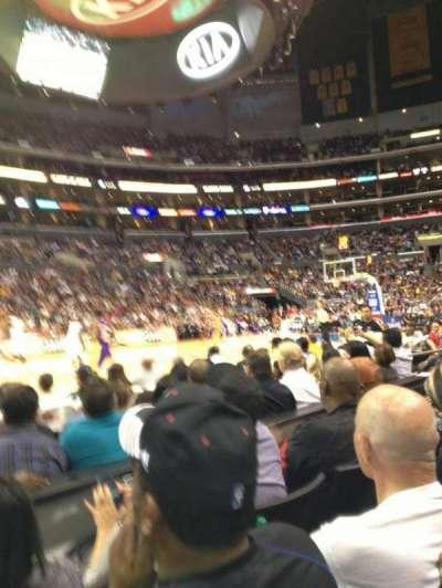 Staples Center secção 112