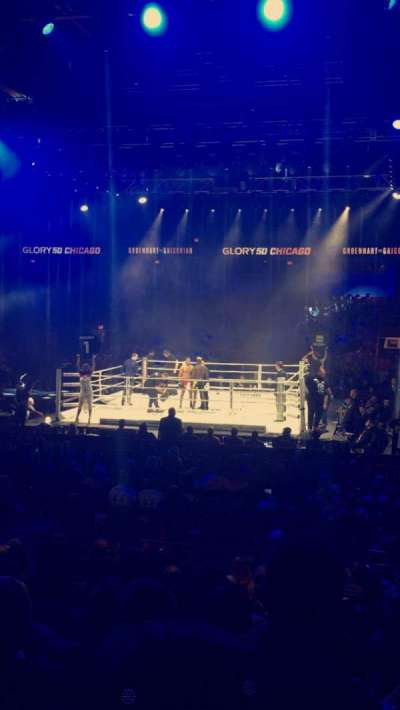 Credit Union 1 Arena, secção: 113, fila: R, lugar: 11