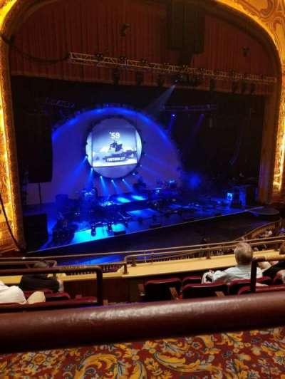 Shea's Buffalo, secção: Balcony 6, fila: A, lugar: 25